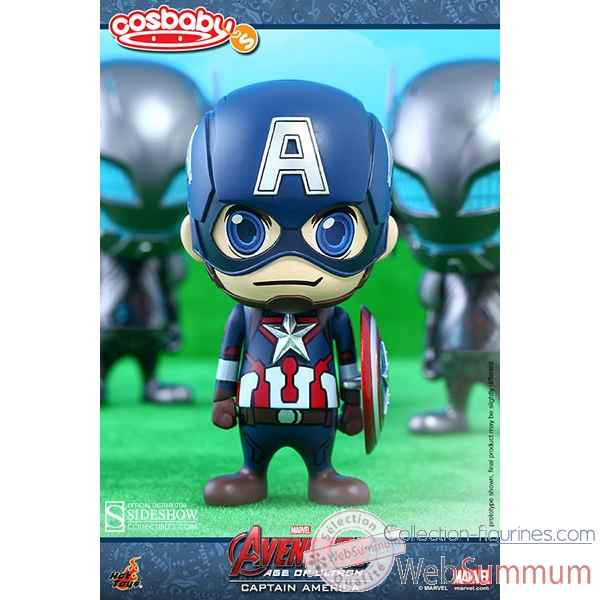Figurine cosbaby captain america avengers aou -SSHOT902366