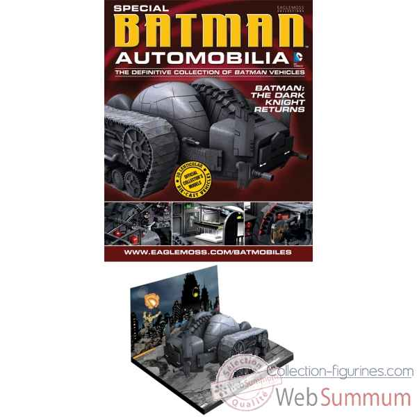 Figurine dc batman automobilia fig coll mag special dark knight returns tank -DIAAUG131690