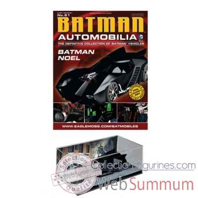 Figurine dc comics: batman auto fig mag #61 noel voiture batmobile -DIAAPR152014