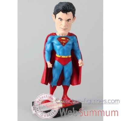 Figurine dc originals: superman #1 head knocker -NECA61325