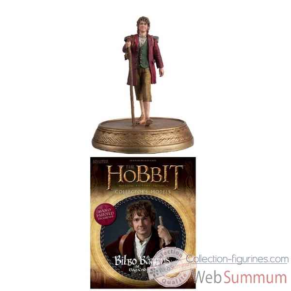 Figurine hobbit motion picture fig mag #3 bilbo baggins -DIAAUG152015