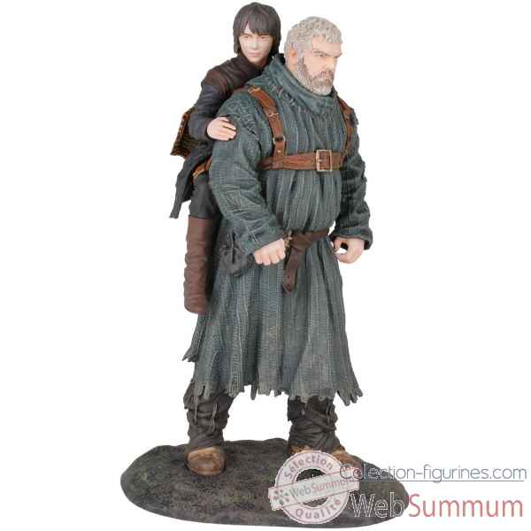 Figurine hodor et bran game of thrones -DH26340