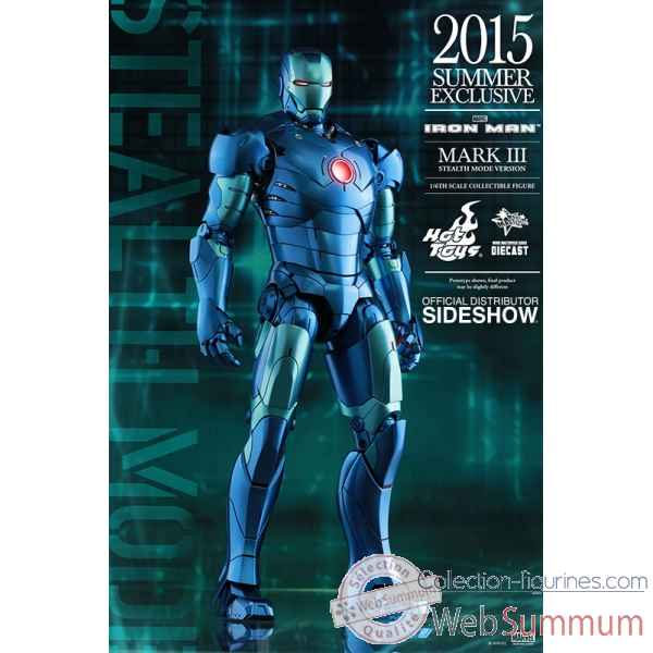 Figurine iron man: mark iii stealth mode version echelle 1/6 -SSHOT902550