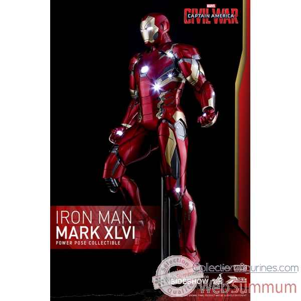 Figurine iron man mark xlvi echelle 1/6 -SSHOT902622