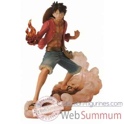 Figurine luffy one piece: brotherhood 2 14 cm -BANP32939