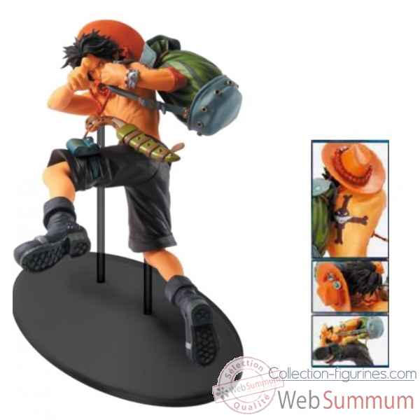 Figurine one piece: ace -BANP33503