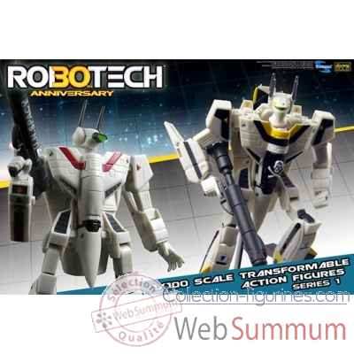 Figurine robotech rick hunter echelle 1:100 -TOY10210