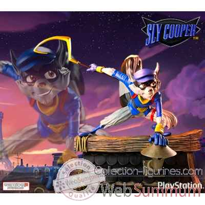 Figurine sly cooper playstation all stars -IPSLYC