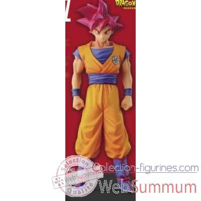 Figurine super saiyan god son goku dragon ball z -BANP33475