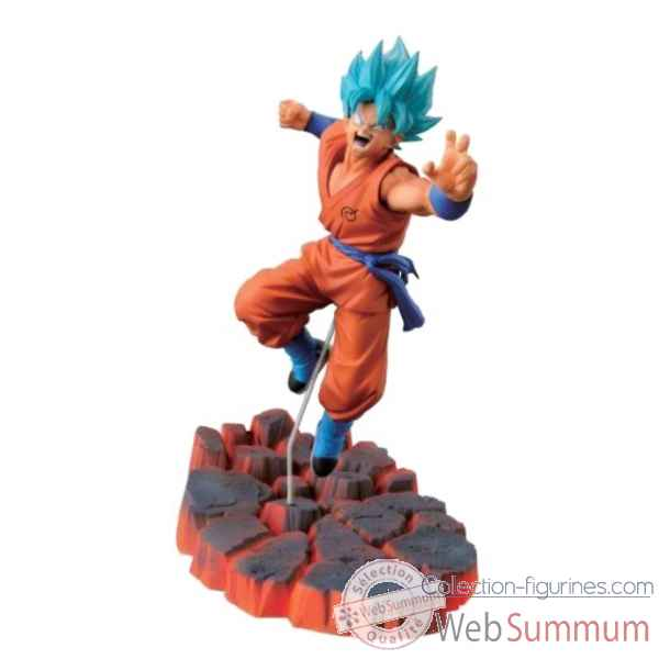 Figurine super saiyan god ss son goku dragonball z -BANP33572