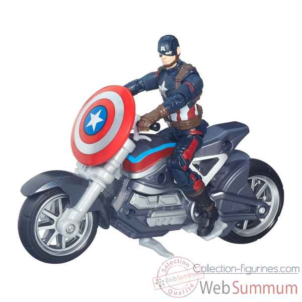 Figurine & vehicule captain america: civil war -HASB6354EU4