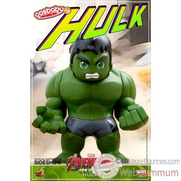 Figurine vinyle hulk cosbaby avengers aou -SSHOT902394