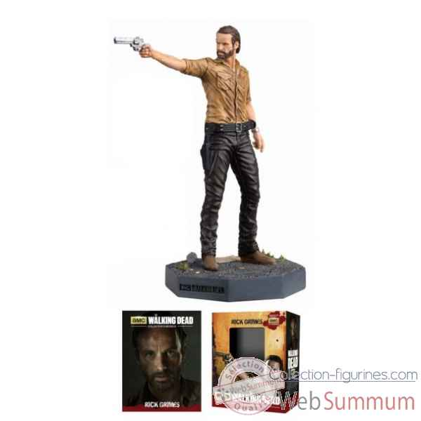 Figurine walking dead: fig mag #1 rick grimes -DIAJUN151750