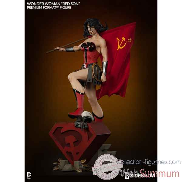Figurine wonder woman - red son premium format -SS3001153