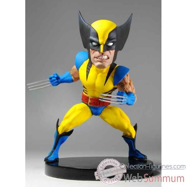 Figurine marvel classic - wolverine head knocker extreme -NECA61403