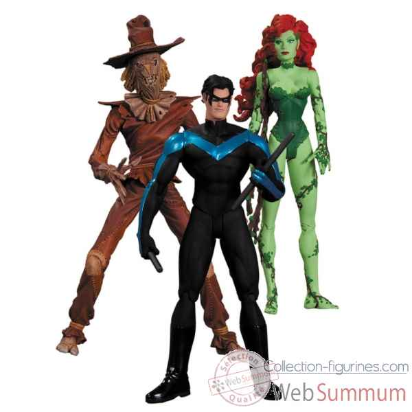 Figurines scarecrow nightwing poison ivy -DIAMAY130286