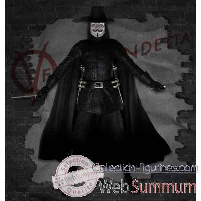 V for vendetta statue resine -NECA44323