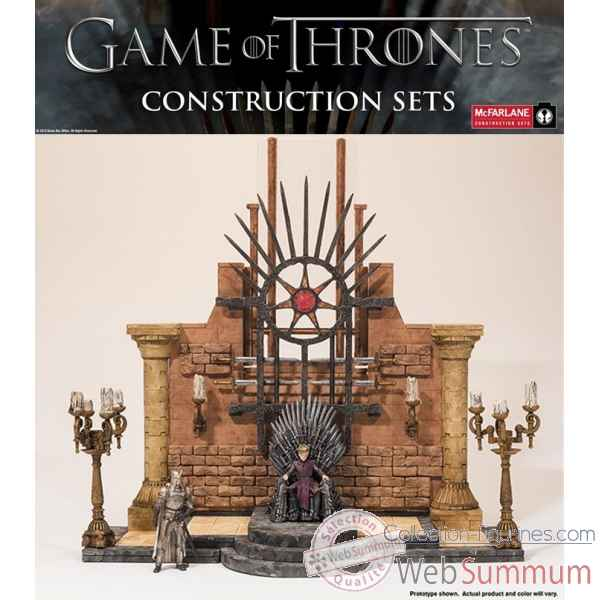 Game of thrones: figurine piece du throne a construire -MCF19391