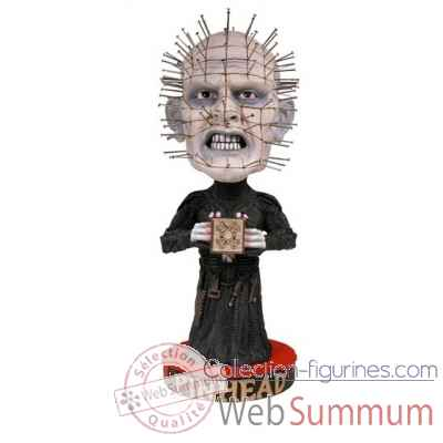 Hellraiser: figurine pinhead head knocker -NECA33040