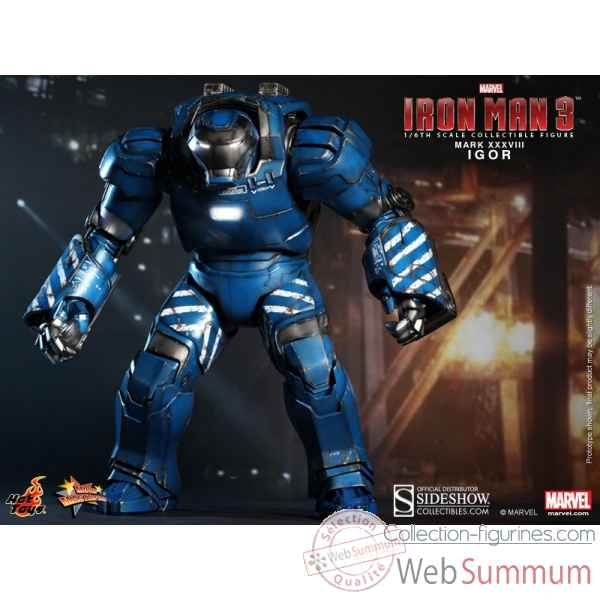 Iron man 3: figurine igor mark xxxviii marvel -SSHOT902129