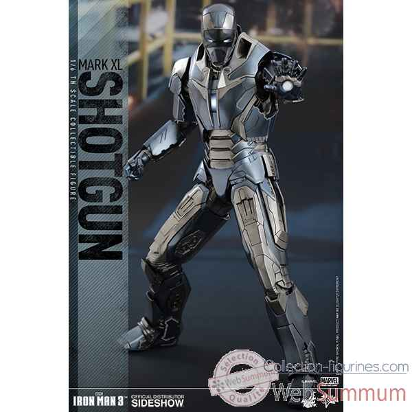 Iron man 3: figurine iron man mark xl shotgun echelle 1/6 -SSHOT902494
