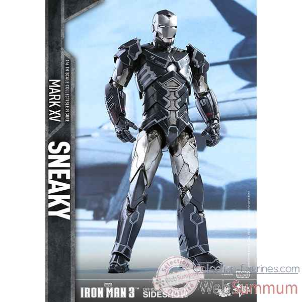 Iron man 3: figurine iron man mark xv sneaky echelle 1/6 -SSHOT902637