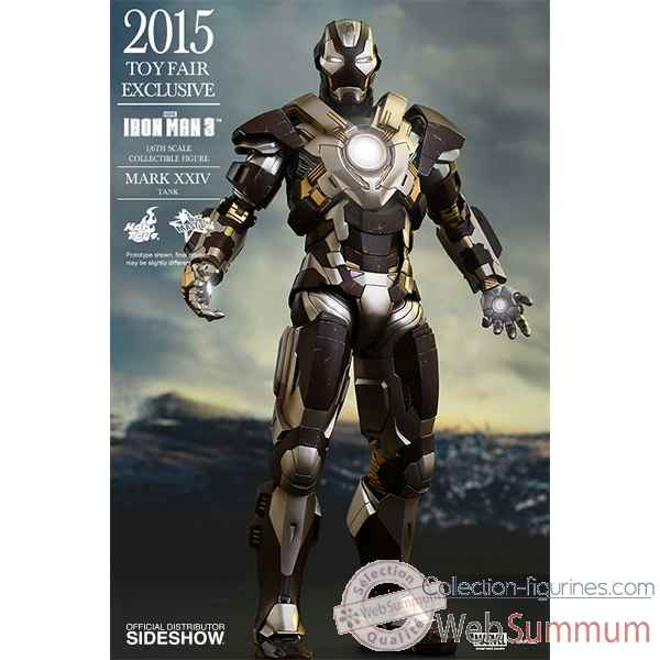 Iron man 3: figurine iron man mark xxiv tank -SSHOT902443