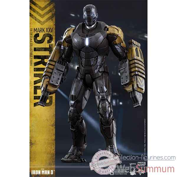 Iron man 3: figurine iron man mark xxv striker echelle 1/6 -SSHOT902312