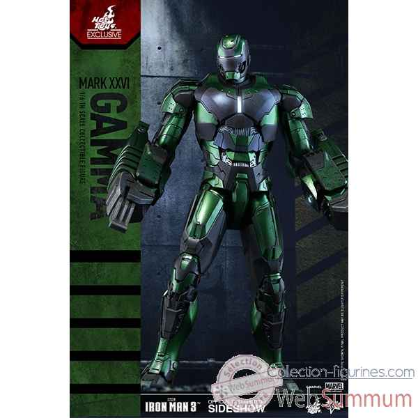 Iron man 3 figurine iron man mark xxvi gamma echelle 1/6 -SSHOT902578