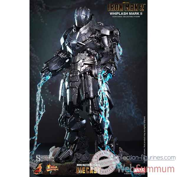 Iron man 2: figurine whiplash mark ii echelle 1/6 -SSHOT902178