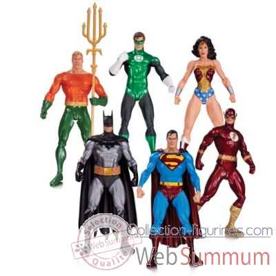Lot 6 figurine alex ross justice league -DIAJUN150332