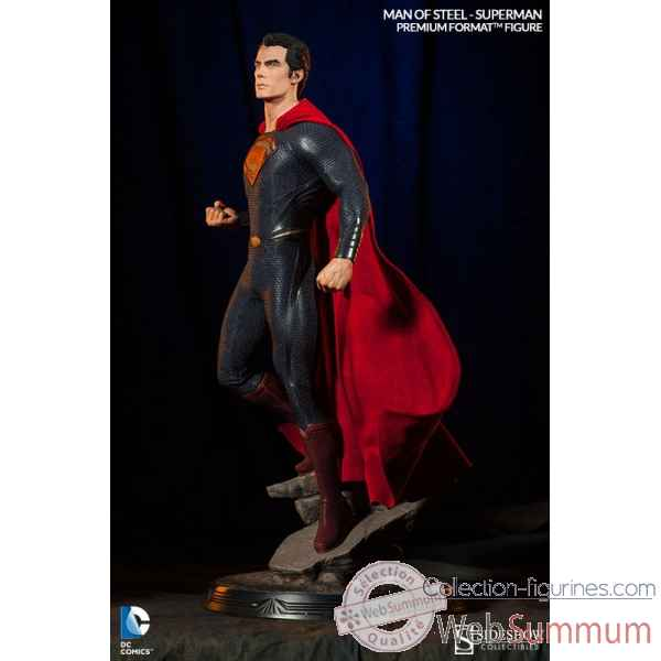 Man of steel: figurine superman -SS300351