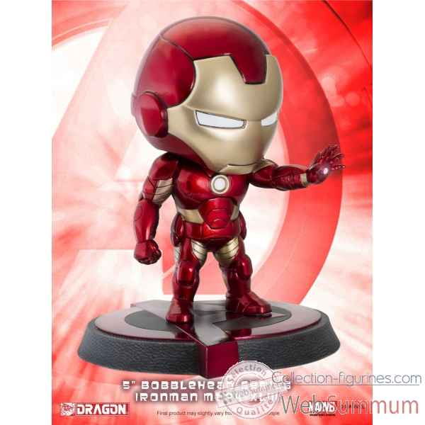 Marvel: avengers - age of ultron - iron man mark 43 bobblehead -DRAG36011