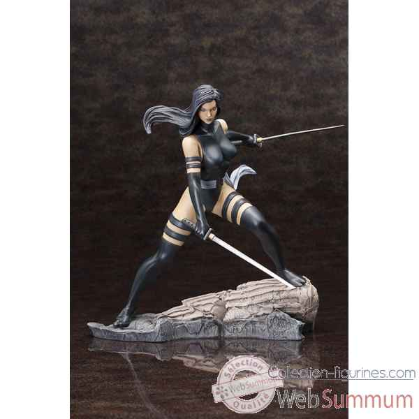 Marvel comics: statue psylocke x-force fine art -KTOMK163