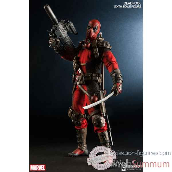 Marvel: deadpool figurine echelle 1/6 -SS100178