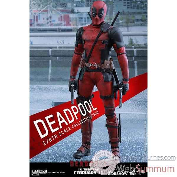 Marvel figurine deadpool echelle 1/6 -SSHOT902628