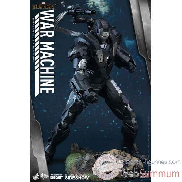 Marvel: figurine echelle 1/6 war machine diecast -SSHOT902615