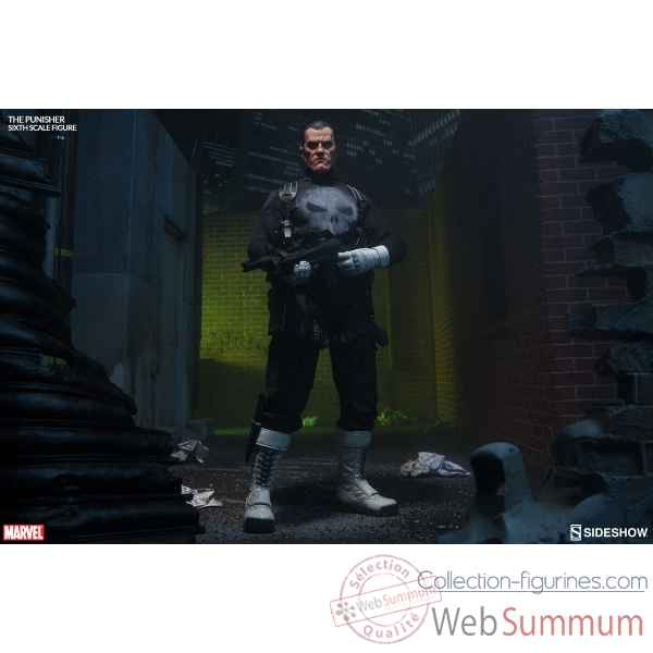 Marvel: punisher figurine echelle 1/6 -SS100212
