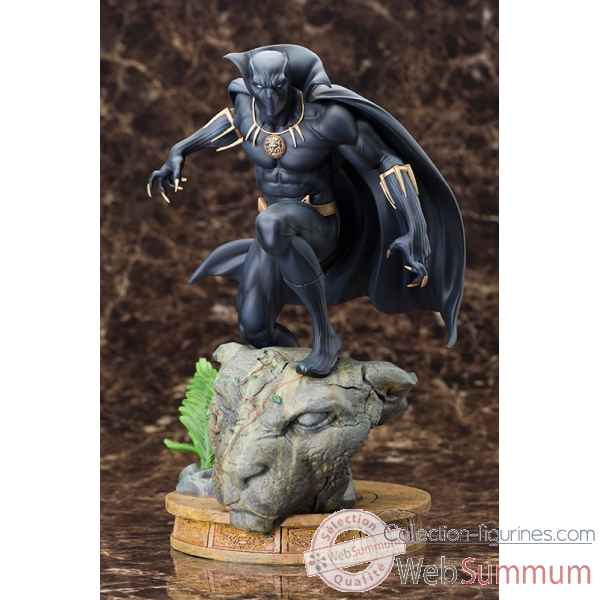 Marvel: statue black panther fine art -KTOMK201