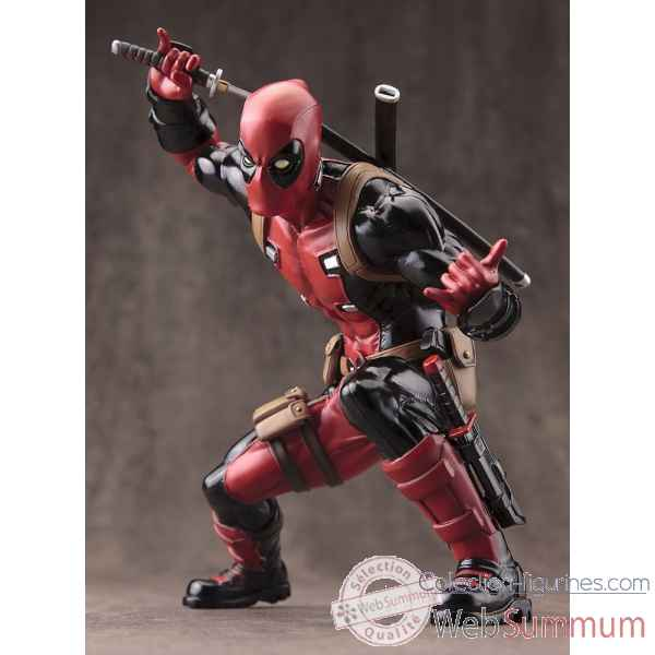 Marvel: statue deadpool artfx+ -KTOMK176