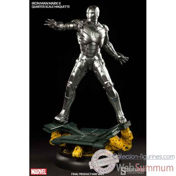 Marvel: statuette iron man mark ii echelle 1/4 -SS3001722