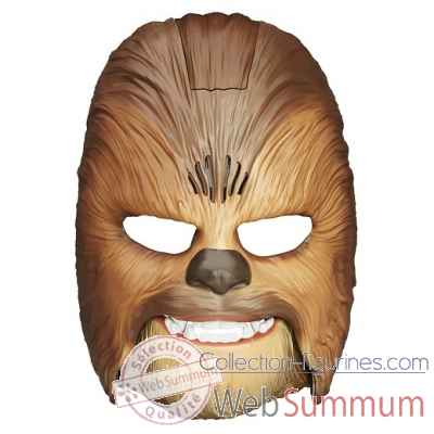 Masque electronique chewbacca star wars le reveil de la force -HASB3226EU4