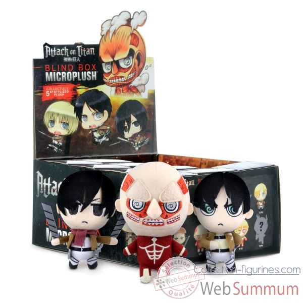 Micro peluche attack on titan blind box cdu -CRCPATL101
