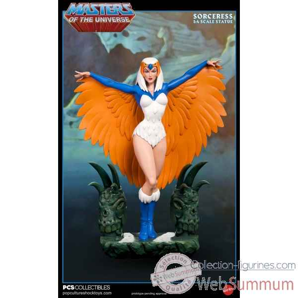 Motu: sorceress regular version - statue echelle 1:4 -PCSMOTUSORCERESS001