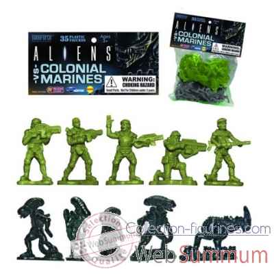 Petits soldats aliens v colonial marines: army 35 pieces -DIAOCT152351