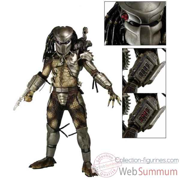 Predator: jungle hunter predator avec led lights - figurine echelle 1/4 -NECA51527