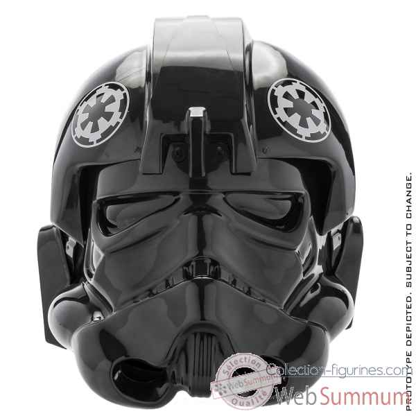 Replique casque pilote tie fighter star wars -ANONVSWHELMET002