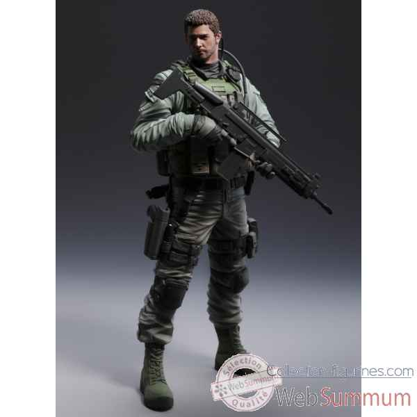 Resident evil 6: chris redfield statue pvc -CAP0001