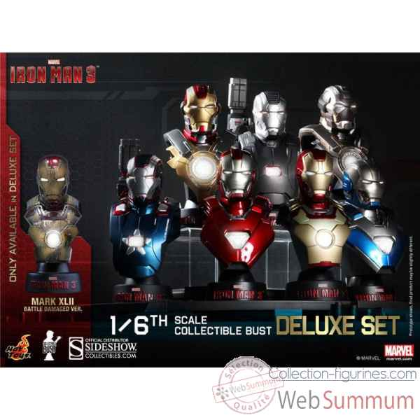 Set buste de collection iron man 3 echelle 1/6 -SSHOT902126