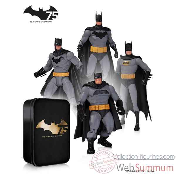 Set figurine batman 75th anniversary -DIAJUN140317